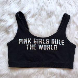 PINK by Victoria's Secret Crop Sports Bra